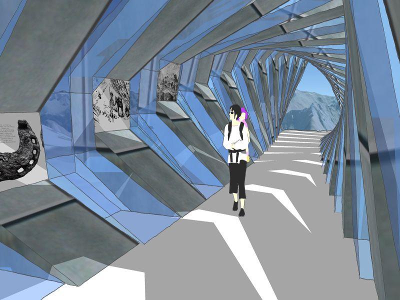 Detailbild: Grenztunnel 16