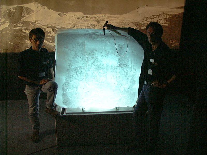 Detailbild: Glaziologen