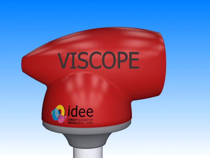 Detailbild: Viscope rot