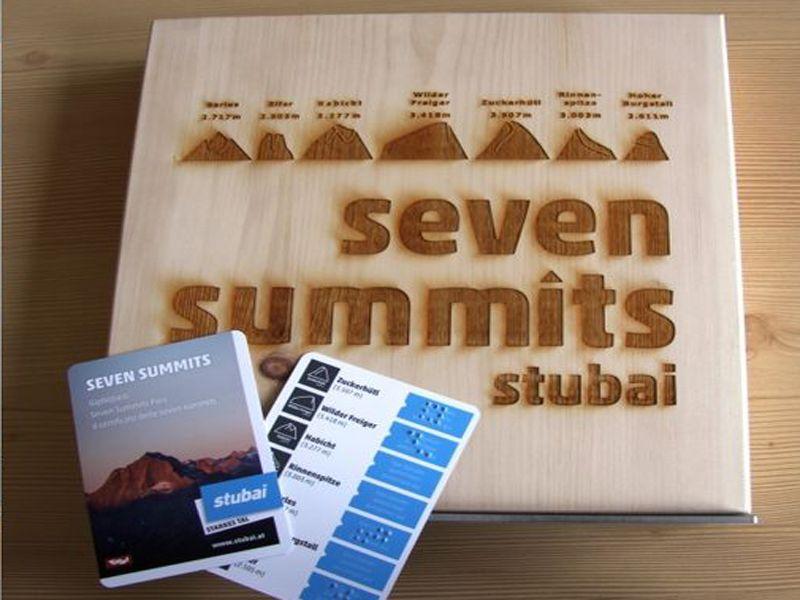 Detailbild: Seven summits 5